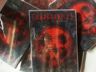 "Regular Version DVD Burgerkill ""We Will Bleed"""